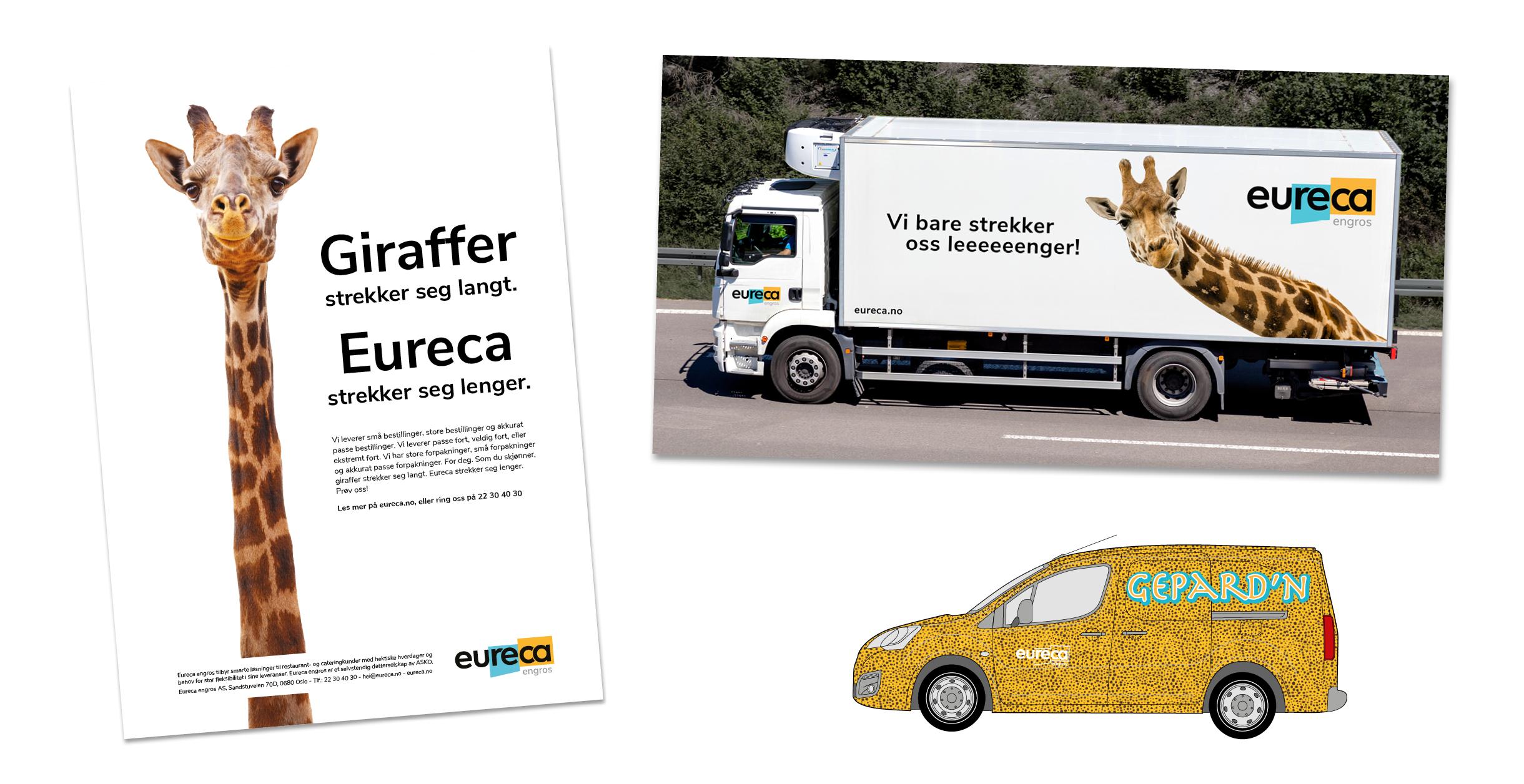 Eureca annonser og bildekor