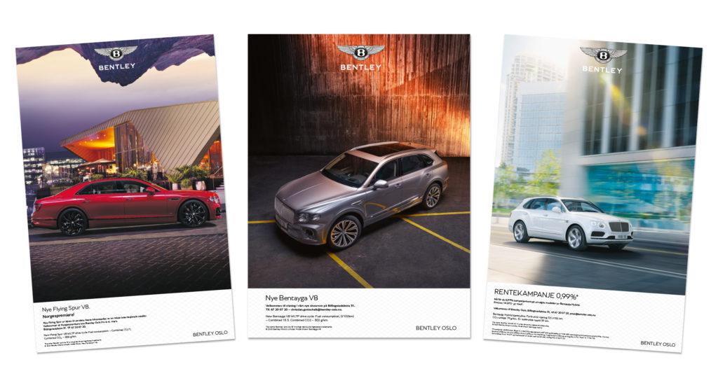 Bentley annonser